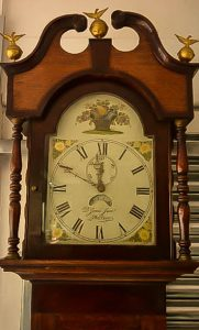 antique welsh grandfather clock